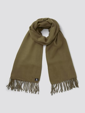 Scarf with fringes - 7 - TOM TAILOR Denim