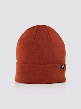 Basic Beanie-Mütze - 7 - TOM TAILOR Denim