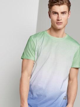 T-Shirt mit Farbverlauf - 5 - TOM TAILOR Denim