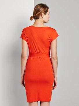 Jerseykleid mit Bindegürtel - 2 - TOM TAILOR