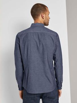 Gemustertes Slim Fit Hemd - 2 - TOM TAILOR