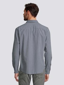 Fein Kariertes Hemd mit Brusttasche - 2 - TOM TAILOR