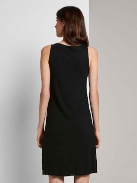Sleeveless halter dress with a print - 2 - TOM TAILOR