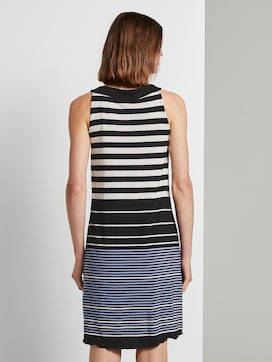 Sleeveless halter dress with a print - 2 - TOM TAILOR