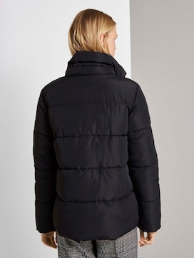 Puffer jacket with a stand-up collar - 2 - TOM TAILOR Denim