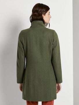 Wollmantel mit Reißverschlusstaschen - 2 - TOM TAILOR Denim