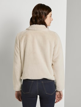 Short faux fur jacket - 2 - TOM TAILOR Denim