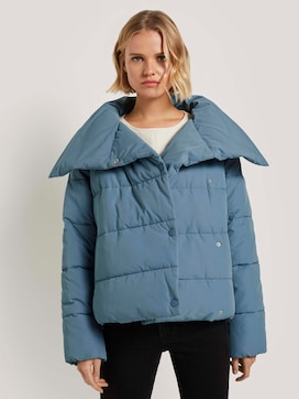 Asymmetrische Pufferjacke - 5 - TOM TAILOR Denim