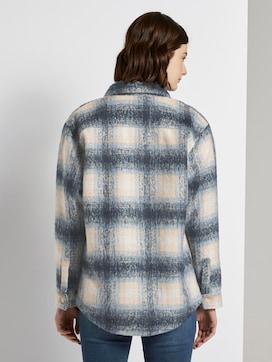 Checked shirt jacket - 2 - TOM TAILOR Denim