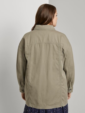 Field jacket with a shirt collar - 2 - My True Me