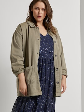 Field jacket with a shirt collar - 5 - My True Me