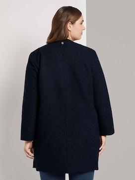 Bouclé jas met dubbele rij knopen - 2 - Tom Tailor E-Shop Kollektion