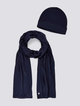 Gift set hat and scarf - 7 - TOM TAILOR