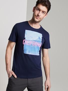 T-Shirt mit Foto-Print - 5 - TOM TAILOR