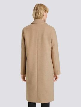 Klassieke wollen jas met zijsplitten - 2 - Tom Tailor E-Shop Kollektion