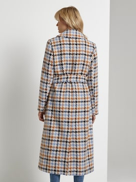 Wool coat with a houndstooth pattern - 2 - Mine to five