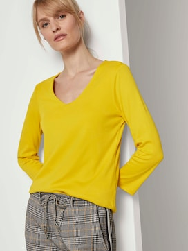 Basic Shirt mit 3/4-Arm - 5 - TOM TAILOR