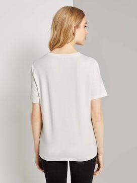 T-shirt met print op de borst - 2 - TOM TAILOR