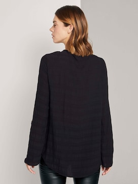Tunic blouse with a chest pocket - 2 - TOM TAILOR Denim