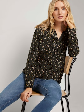 Henley shirt with turn-ups - 5 - TOM TAILOR