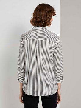 Striped shirt blouse - 2 - TOM TAILOR