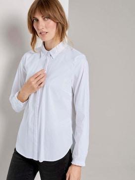 Shirt Blouse met ruches detail - 5 - TOM TAILOR