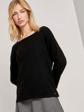Textured boxy shirt - 5 - TOM TAILOR Denim