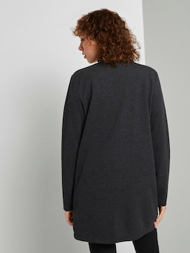 Mottled cardigan with a fine texture - 2 - TOM TAILOR Denim