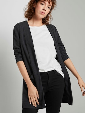 Mottled cardigan with a fine texture - 5 - TOM TAILOR Denim