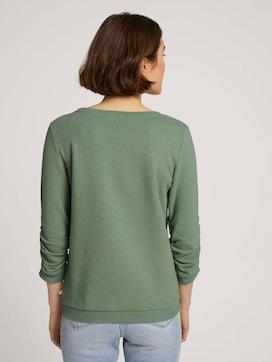 Strukturiertes Sweatshirt - 2 - TOM TAILOR Denim