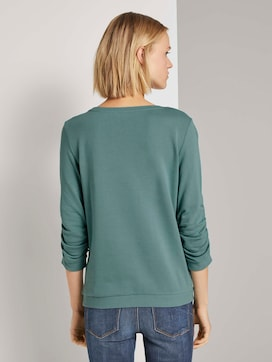 Print-Sweatshirt mit 3/4-Arm - 2 - TOM TAILOR Denim