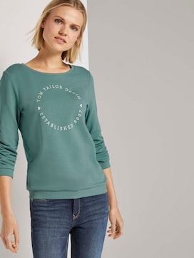 Print-Sweatshirt mit 3/4-Arm - 5 - TOM TAILOR Denim