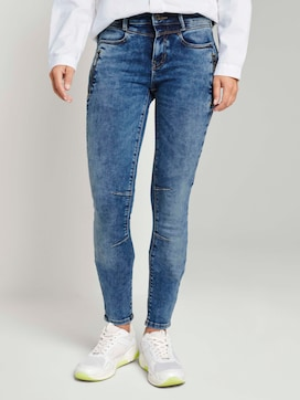 Extra skinny Jona biker jeans with zip details - 1 - TOM TAILOR Denim