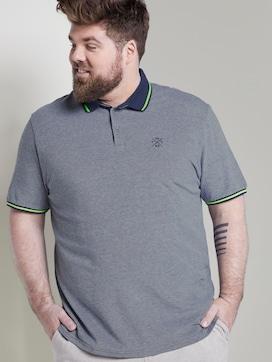 Sommerliches Poloshirt mit kleiner Stickerei - 5 - Men Plus