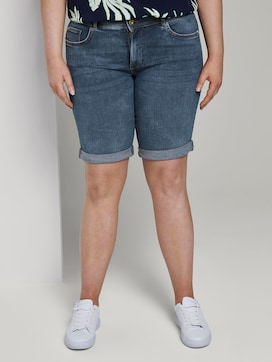 Slim denim shorts - 1 - My True Me