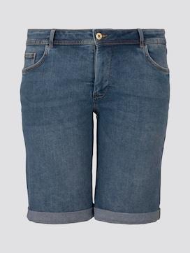 Slim Denim Shorts - 7 - My True Me