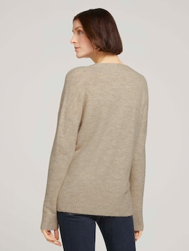 Sweater with a V-neckline - 2 - TOM TAILOR Denim