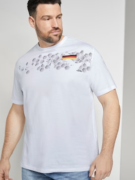 T-Shirt mit EM-Deutschland-Print - 5 - Tom Tailor E-Shop Kollektion