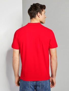 Basic Poloshirt mit kleiner Stickerei - 2 - TOM TAILOR