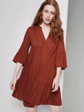 Mini Babydoll-Kleid mit Volants - 5 - TOM TAILOR Denim