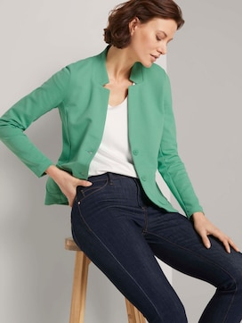 Textured ottoman blazer - 5 - TOM TAILOR