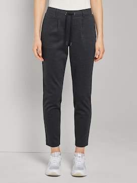 Fein karierte Loose Fit Hose - 1 - TOM TAILOR
