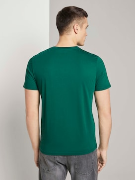 T-shirt met logo print - 2 - TOM TAILOR