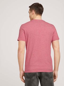 Fein gemustertes T-Shirt mit Brusttasche - 2 - TOM TAILOR