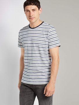 Bunt gestreiftes T-Shirt - 5 - TOM TAILOR