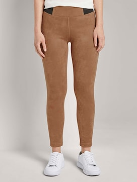 Treggings with an elastic waistband - 1 - TOM TAILOR