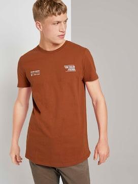 T-shirt met kleine print - 5 - TOM TAILOR Denim