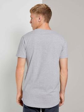 T-Shirt mit kleinem Schriftprint - 2 - TOM TAILOR Denim