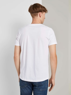 T-shirt with print stripes - 2 - TOM TAILOR Denim