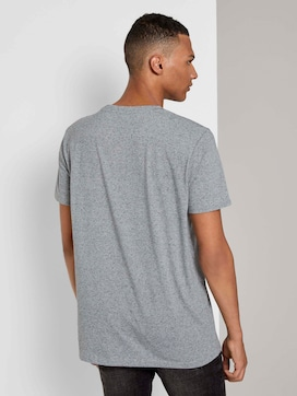 Mottled T-shirt with a photo print - 2 - TOM TAILOR Denim